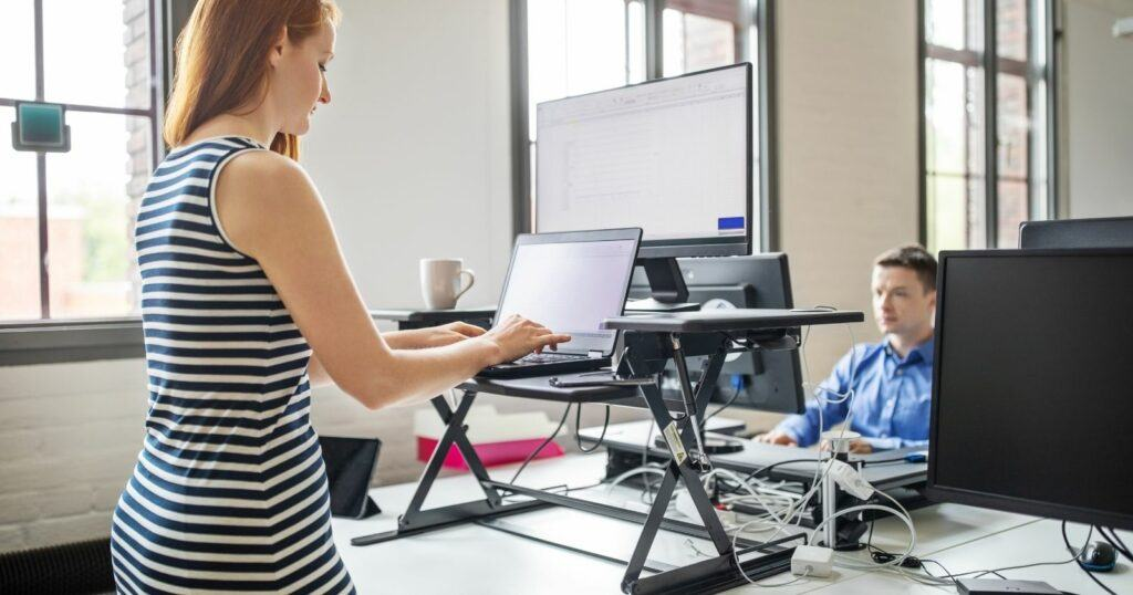 best standing desk converters - discover